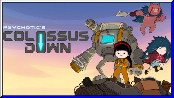 Psychotic's Colossus Down (PS5) Review | via PS4 BC