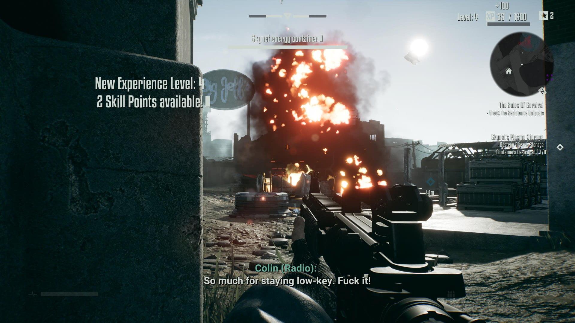 Terminator Resistance Enhanced 2+1