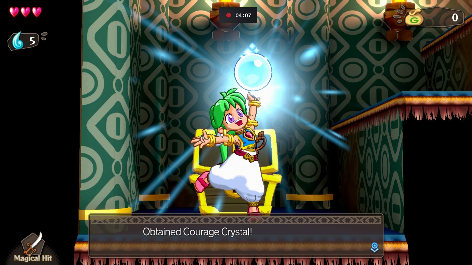 Wonder Boy Asha In Monster World 1+1