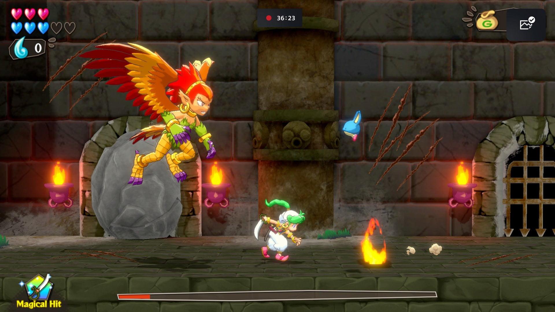 Wonder Boy Asha In Monster World 3+1