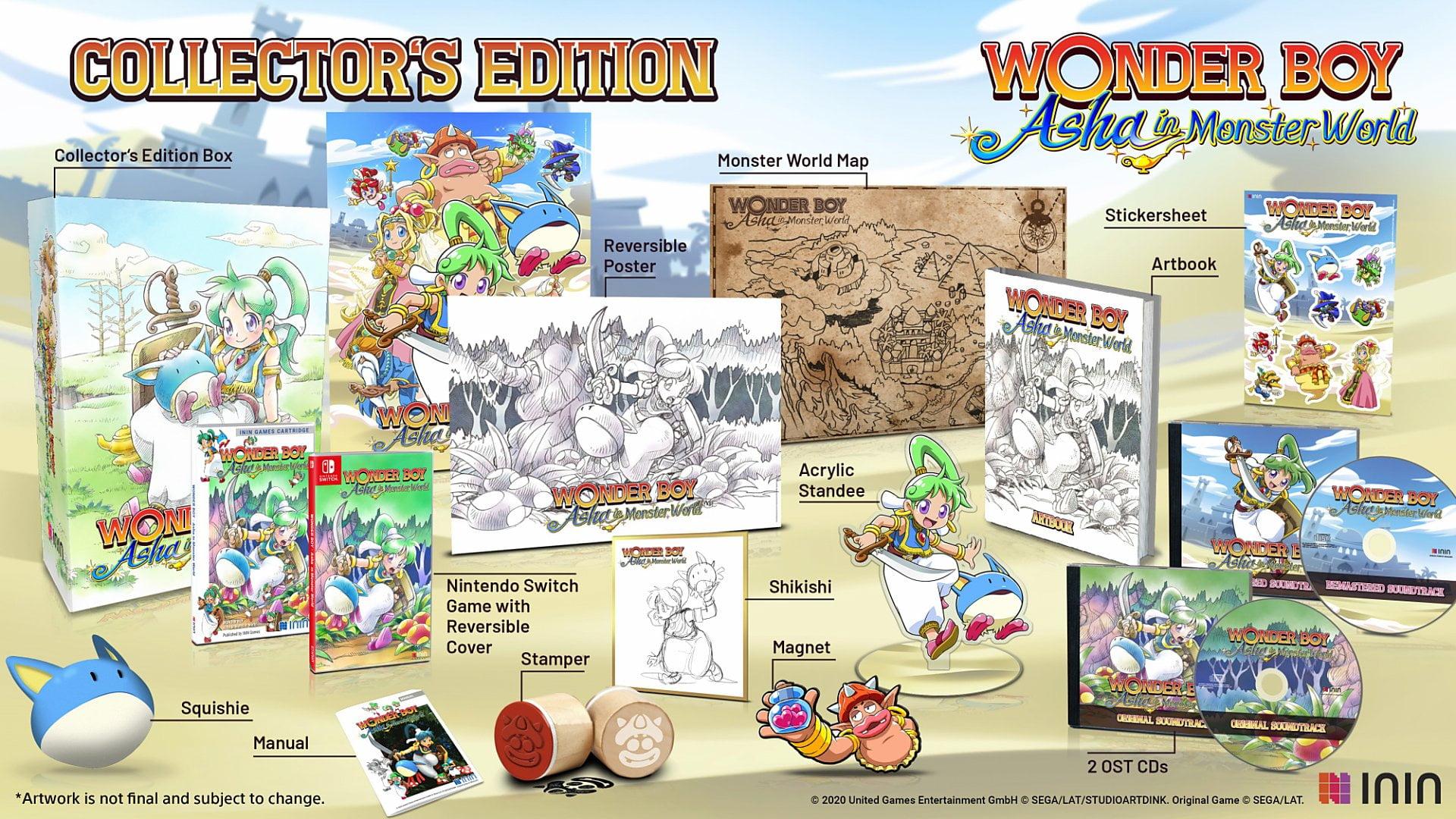 Wonder Boy Asha In Monster World 6
