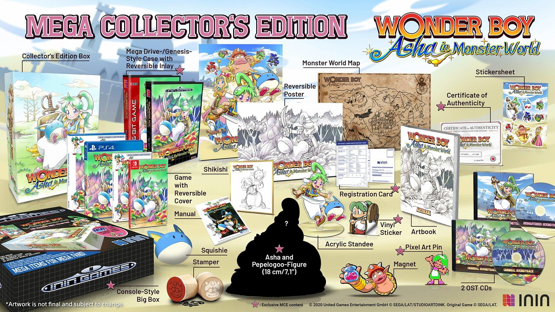 Wonder Boy Asha In Monster World 7