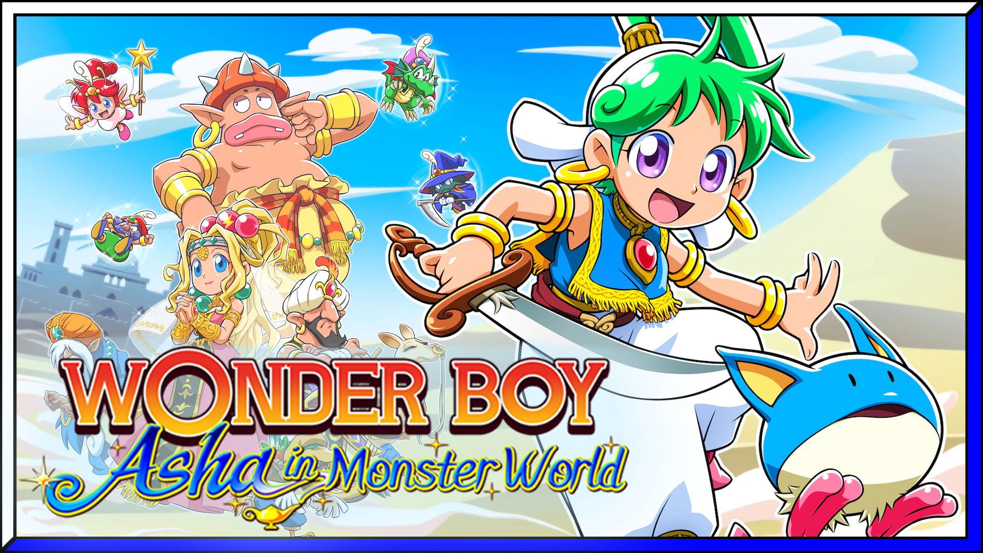 Wonder Boy: Asha in Monster World (PS5) Review | via PS4 BC