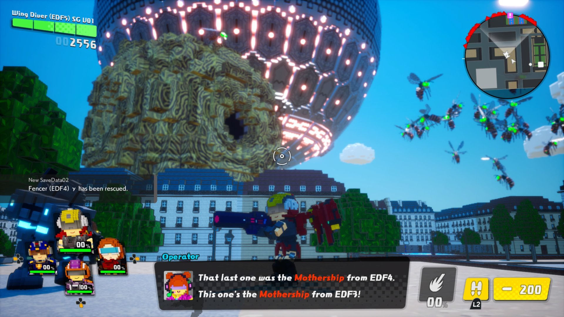 EARTH DEFENSE FORCE WORLD BROTHERS 6+1