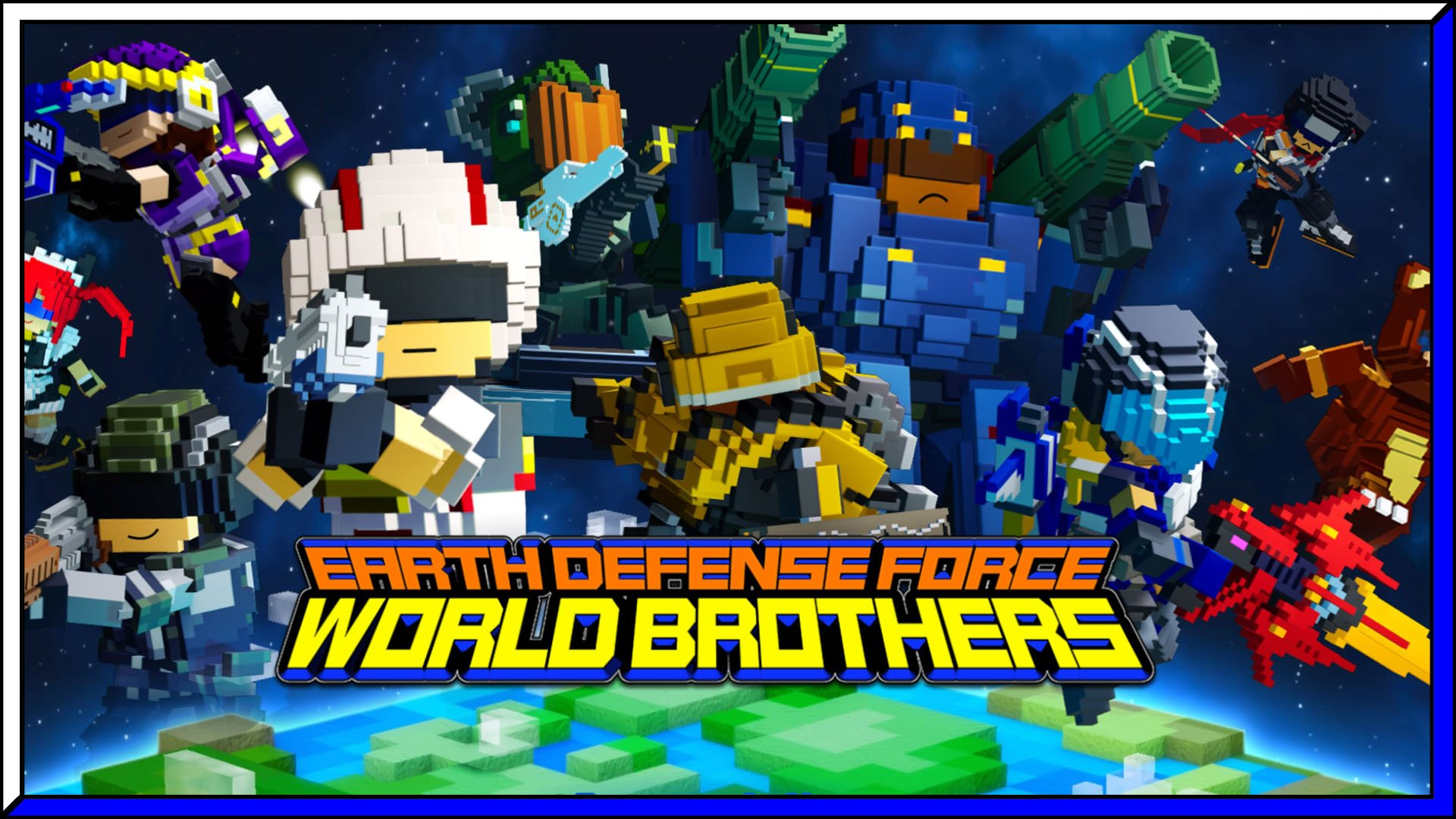 EARTH DEFENSE FORCE WORLD BROTHERS Fi3