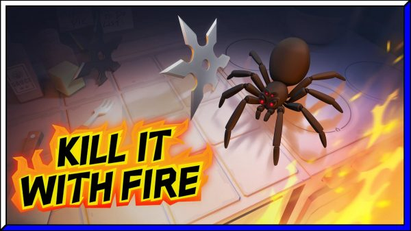 Kill It With Fire (PS5) Review | via PS4 BC
