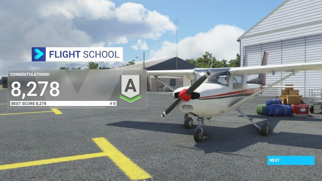 Microsoft Flight Simulator 4+1