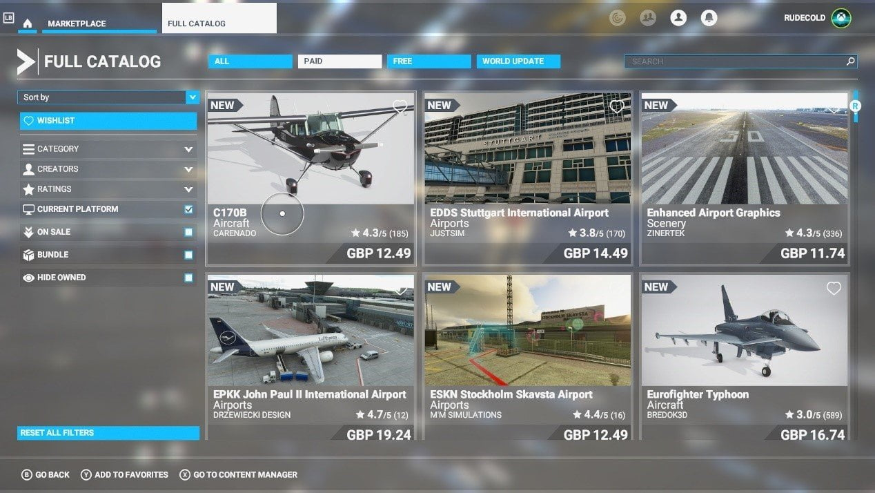 Microsoft Flight Simulator 5+1